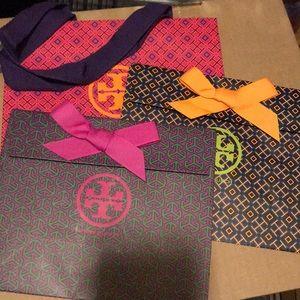 🆕 3 Tory Shopping / Gift Bag Small 💕